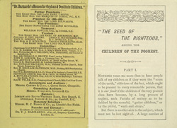 Dr. Barnardo leaflet, Seed of the Righteous 5413 page 1